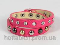 Малиновый браслет для девушки
