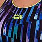 Купальник спортивный для плавания слитный женский MADWAVE FlEX E3 M015020 S-M фиолетовый S-44, фото 8
