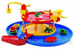 """Дитячий ігровий набір паркінг з водою, машини, човни, вертоліт """"Multiplayer Game"""""""