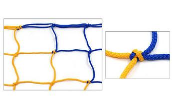 Сетка гашения для мини-футбольных и гандбольных ворот SP-Planeta Стандарт SO-5282 2шт