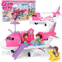 """Дитячий ігровий набір """"Приватний літак"""", Creative Time."""