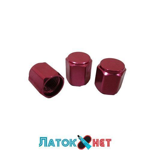 Колпачок металлический красный