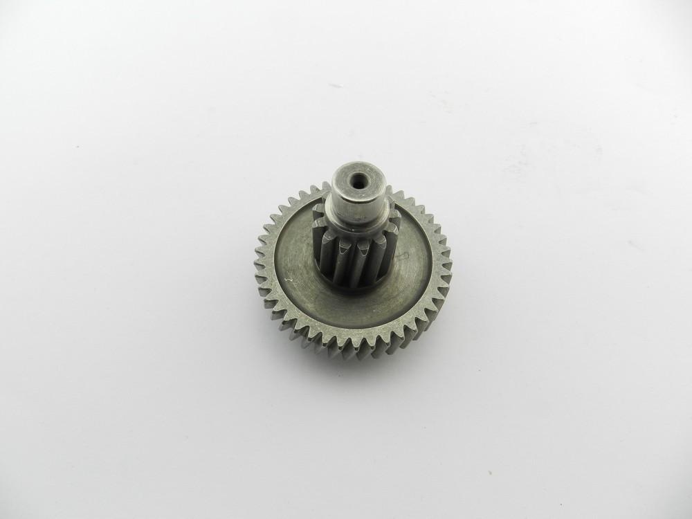 Шестерня редуктора 4т GY6-125/150сс (промежуточного вала)
