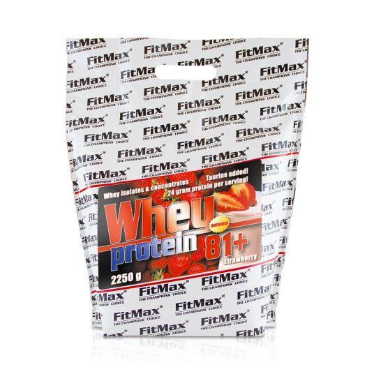 Протеин FitMax Whey Protein 81+, 2.25 кг Клубника