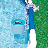 Скіммер для басейну очищення верхнього шару води Intex 28000, від фільтр-насоса 6 028л/год, фото 4