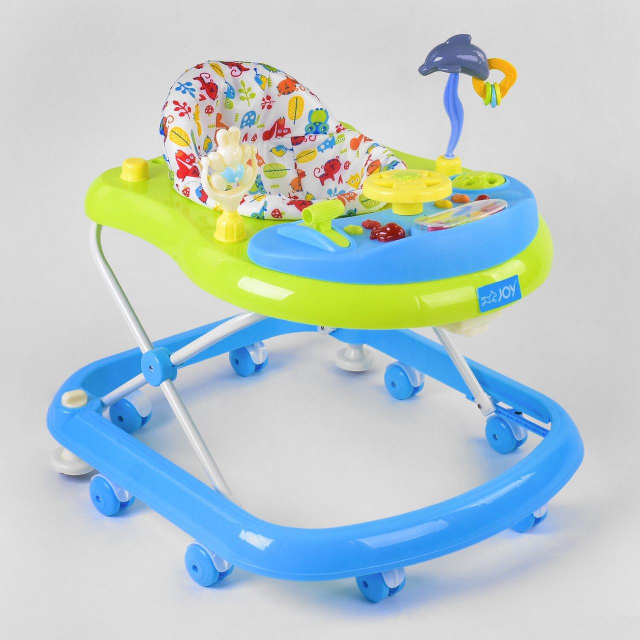 """Дитяча каталка-ходунки-ігровий центр для дитини TS-06122 """"JOY"""""""