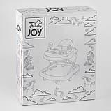 """Дитяча каталка-ходунки-ігровий центр для дитини TS-06122 """"JOY"""", фото 4"""