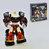 """Робот-трансформер 4 в 1 """"Tobot Police Tron"""" 521 перетворюється в 3 поліцейських машинки, фото 2"""