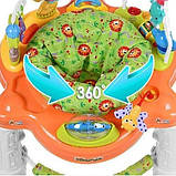 Ігровий центр-ходунки для дитини 63567 (1606070) з гральним столиком і звуковими ефектами (2 види), фото 3
