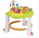 Ігровий центр-ходунки для дитини 63567 (1606070) з гральним столиком і звуковими ефектами (2 види), фото 4