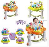 Ігровий центр-ходунки для дитини 63567 (1606070) з гральним столиком і звуковими ефектами (2 види), фото 5