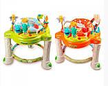 Ігровий центр-ходунки для дитини 63567 (1606070) з гральним столиком і звуковими ефектами (2 види), фото 6