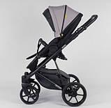 Универсальная детская коляска 2 в 1 с люлькой, прогулочным блоком и чехлом Expander MODO M-83944 цвет Latte, фото 3