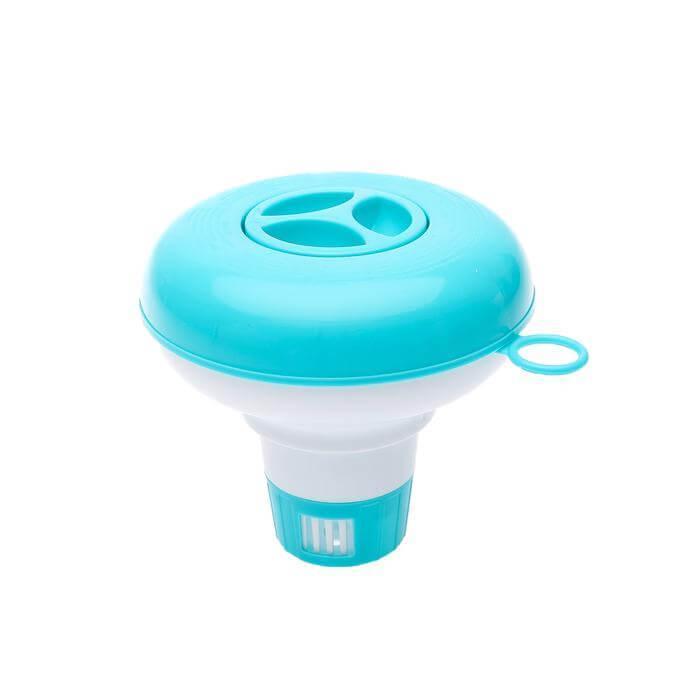 Поплавок дозатор Intex 29040 для медленнорастворимых таблеток диаметром до 2,5 см, для бассейнов до 305 см