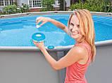 Поплавок дозатор Intex 29040 для медленнорастворимых таблеток диаметром до 2,5 см, для бассейнов до 305 см, фото 2