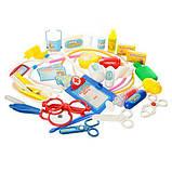 Дитячий ігровий набір доктора в валізі М 0461 (36 предметів), фото 4