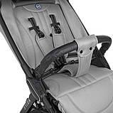Прогулочная коляска, с регулировкой спинки и чехлом на ноги «EL CAMINO» ME 1084 ORION Silver, цвет серый, фото 4