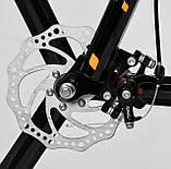 """Городской детский велосипед, колеса 20"""", переключатель скоростей CORSO «Speedline» MG-21060, оранжевый, фото 8"""