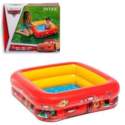 Детский надувной бассейн Intex 57101 «Тачки» (85*85*23 см)