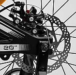 Велосипед двухколесный с дополнительными колесами и ручным тормозом CORSO «Speedline» MG-98402, черный, фото 8