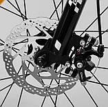 Велосипед двухколесный с дополнительными колесами и ручным тормозом CORSO «Speedline» MG-98402, черный, фото 10