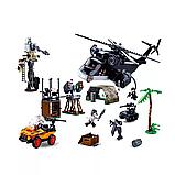 Блочный детский пластиковый конструктор Sluban M38-B0775 Полицейский отряд джунгли (830 деталей), фото 2