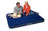 Надувний матрац ліжко полуторний Intex 64758 (137*191*25 см), фото 3