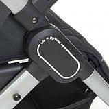 Коляска-книжка для прогулок до 15 кг с регулировкой ручки «EL CAMINO» DYNAMIC ME 1053 v.2 Gray, Серая, фото 9