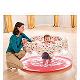 Надувной игровой центр - манеж Intex «Пончик» 48476, 127*61 см, фото 4