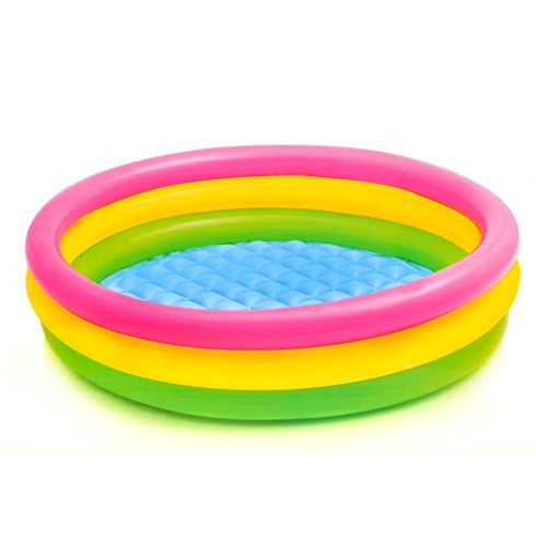 "Дитячий надувний басейн ""Веселка"" Intex 57412 (114*25 см)"