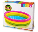 """Дитячий надувний басейн """"Веселка"""" Intex 57412 (114*25 см), фото 2"""