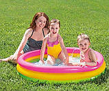 """Дитячий надувний басейн """"Веселка"""" Intex 57412 (114*25 см), фото 3"""