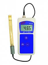 РН-метр ADWA AD110 (РН от -2,00 до 16,00; РН ± 0.02 pH), АТС, автоматическая калибровка. Венгрия