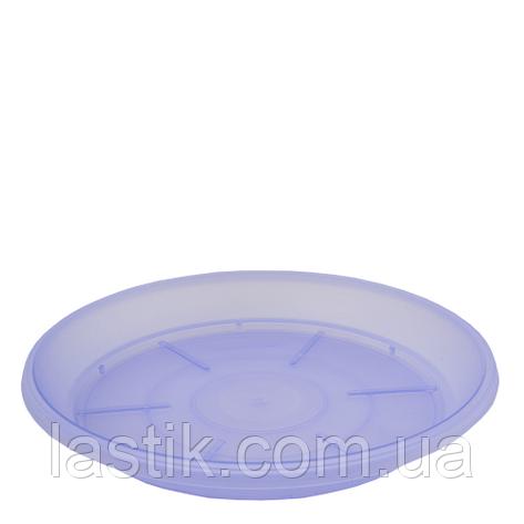 """Підставка під вазон Терра"""", фіолетова прозора, 9 * 6,5, фото 2"""
