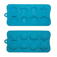 Форма силиконовая для льда 22 х 10 х 1,5 см Kamille 7721