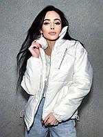 Стильна куртка осінь-зима Oversize, фото 1