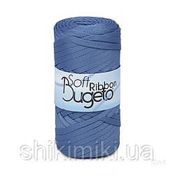 Плоский полиэфирный шнур Bugeto Soft Ribbon, цвет маренго