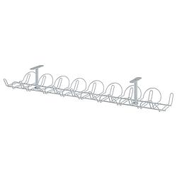 Канал для кабеля горизонтальный IKEA SIGNUM серебристый 302.002.53