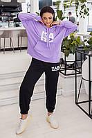 Жіночий спортивний костюм великого розміру: худі і джоггери, фото 1