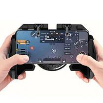 Безпровідний геймпад тригер для смартфона Proda PD-D04 PUBG MOBILE з охолодженням, фото 2
