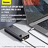 Зовнішній акумулятор повербанк power bank BASEUS 20000mAh з технологією швидкої зарядки 2USB/1Type-C, 6A, 65W, фото 6