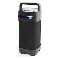 Беспроводная портативная Bluetooth колонка Beecaro GF801 8W*2/25W радио бумбокс Speaker USB 4400mA, фото 2