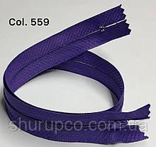 Плательная молния Тип 3 фиолетовый