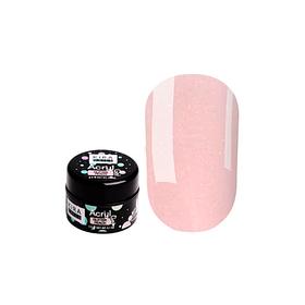 Kira Nails Acryl Gel Glitter Peach, 5 г