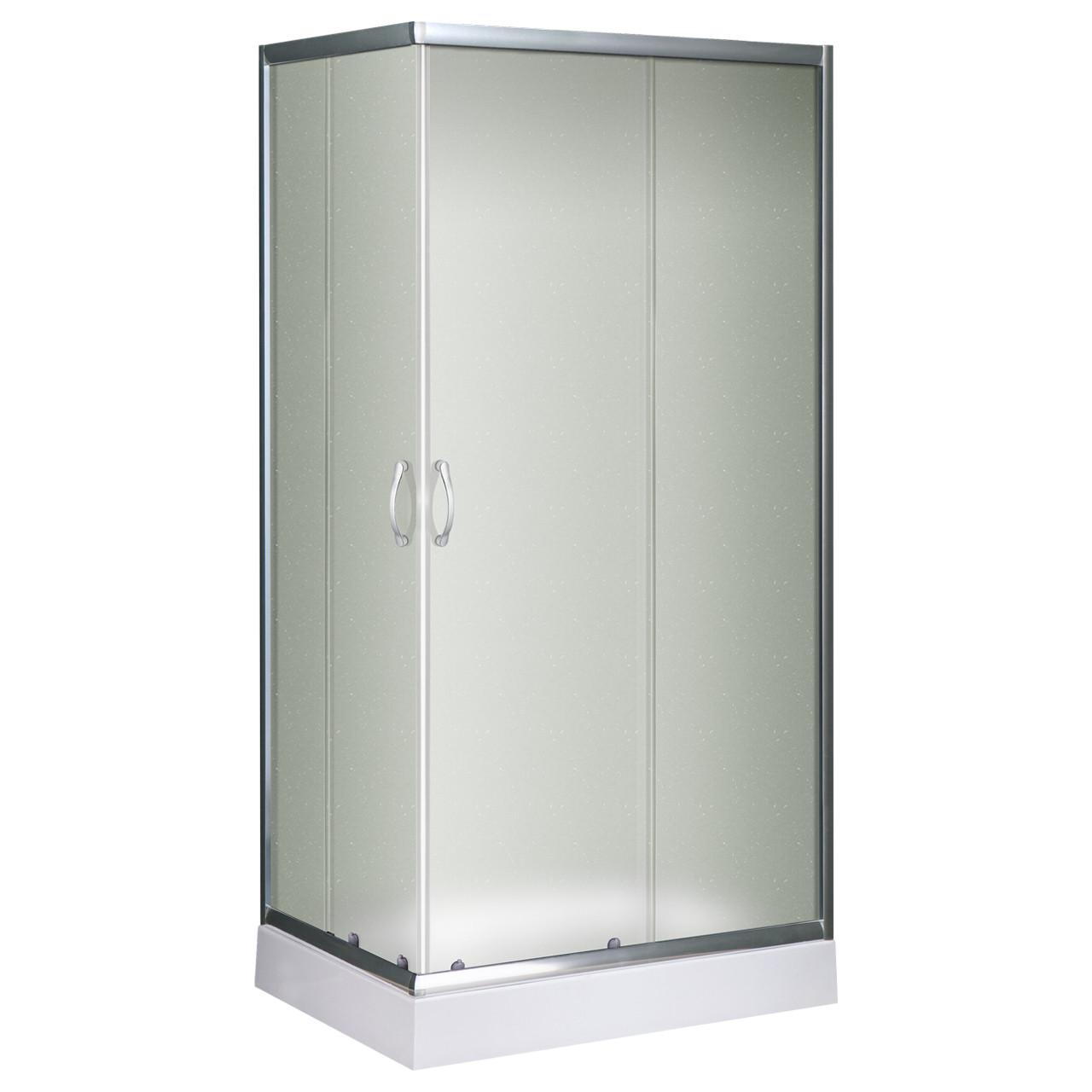 D90-70/15 R, душевая кабина Sansa, 90 х 70 см, рама сатин, стекло матовое