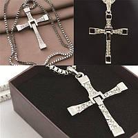 Крест Доминика Торетто с цепочкой (Форсаж). Оригинал!, фото 1
