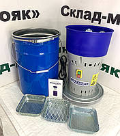 """Зернодробилка """"Беларусь"""". 1300 (Вт). Европейская сборка. Дробилка с баком 25л. до 300 кг/час."""