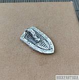 Срібний образок чоловічий кулон підвіска Архангел Михайло, фото 3