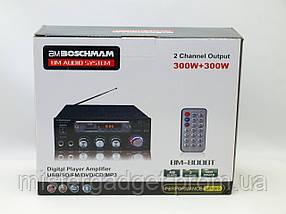 Усилитель звука BM-800bt Два входа для микрофона и блютуз, фото 2