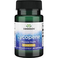 Лікопін, Swanson, Lycopene, 20 мг, 60 капсул